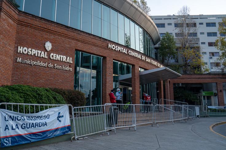 Habilitar los pisos en desuso del Hospital Central