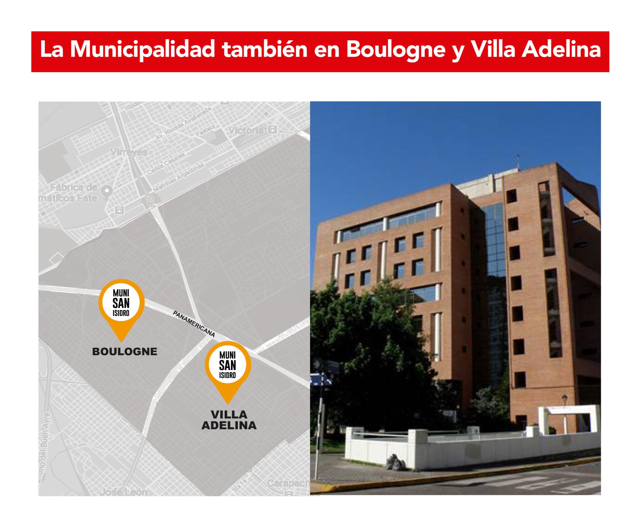 Sede de la Municipalidad para Boulogne y Villa Adelina