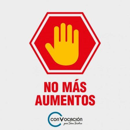 Vecinalismo en San Isidro se planta con límites al Intendente: No más subas de tasas.