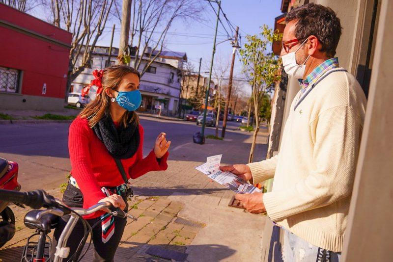 Arrancó el delivery de boletas a domicilio 2021 en San Isidro